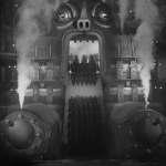 Photo of machine monster from Fritz Lang's movie Metropolis