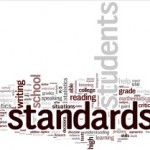 Word cloud with the word Standards as the largest one shown
