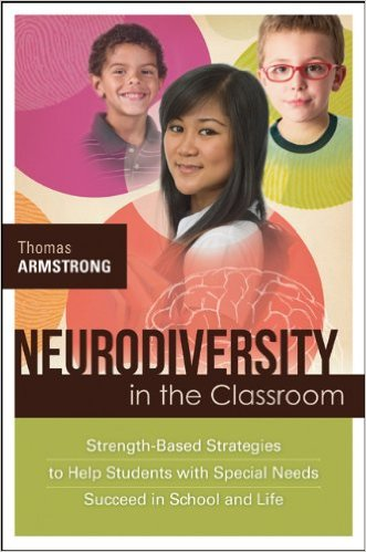 Cover of my book Neurodiversity in the Classroom