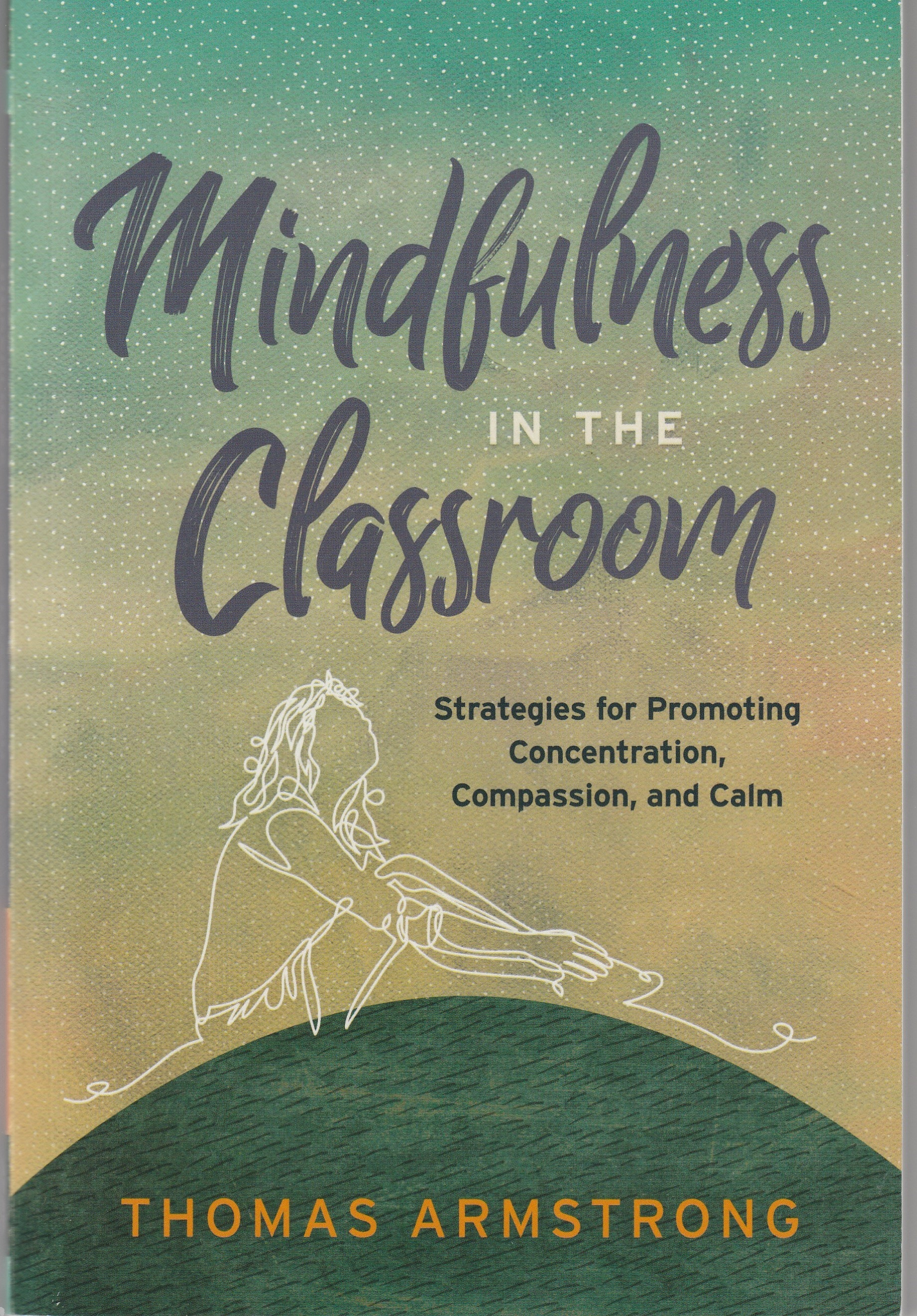photo of cover of book Mindfulness in the Classroom